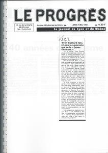 1992 ARTICLE 40 ANS JCE 2