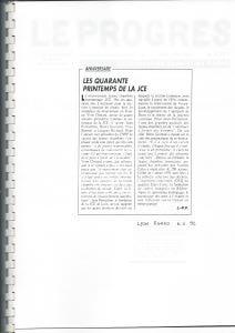 1992 ARTICLE 40 ANS JCE