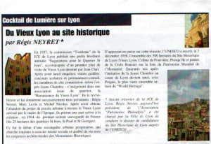 Du vieux Lyon au site historique - R Neyret