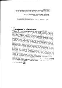 Laurier 86 Partenariat chercheurs industriels 1986 13 pdf